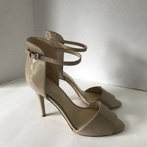 Nine West Nude High Heel Sandals - Never Worn